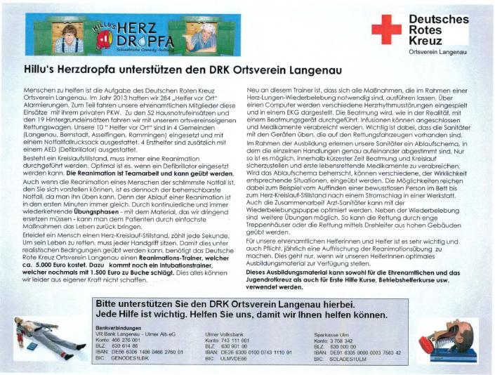 DRK Ortsvserein Langenau