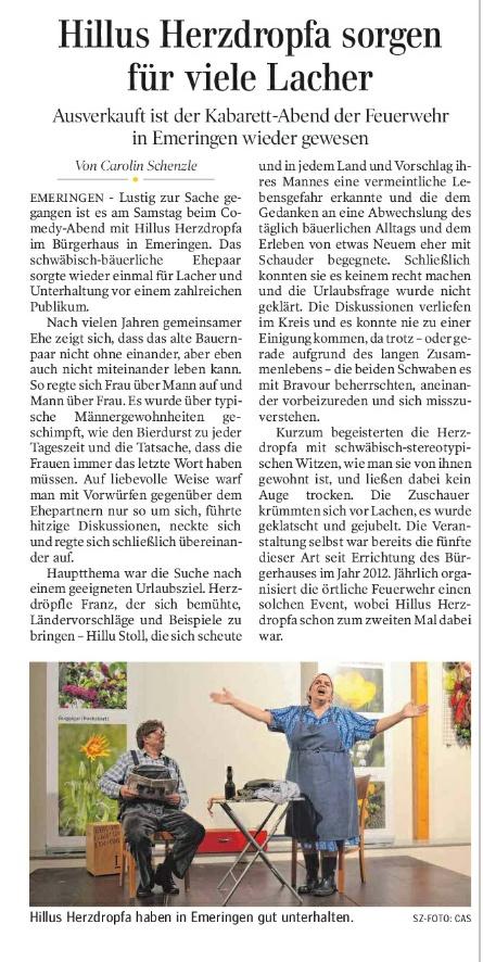 Schw.Zeitung Ehingen, 07.11.2017b
